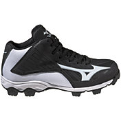 Mizuno Kids' 9-Spike Advanced Franchise 8 Mid Baseball Cleats
