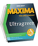 Maxima One Shot Ultragreen Monofilament Fishing Line