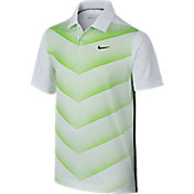 Nike Boys' Tiger Woods 26 Degree Fade Golf Polo