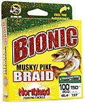 Northland Bionic Musky/Pike Braid Fishing Line