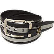 PGA Tour Men's Reversible Stripe Golf Belt