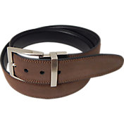 PGA Tour Men's Reversible Suede Golf Belt