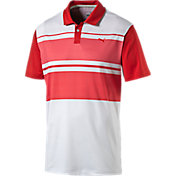 Puma Boys' Patternblock Golf Polo