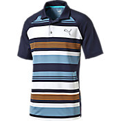 Puma Boys' Road Map Golf Polo