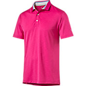 Puma Men's Tailored Tipped Golf Polo