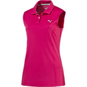Puma Women's Pounce Sleeveless Golf Polo
