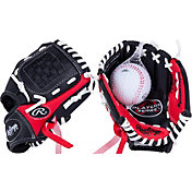 "Rawlings 8.5"" T-Ball Player's Series Glove w/ Ball"
