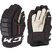 CCM Junior QuickLite Edge Ice Hockey Gloves