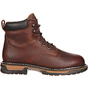 "Rocky Men's IronClad 6"" Waterproof Wide Work Boots"