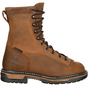 "Rocky Men's IronClad 9"" Waterproof Steel Toe Work Boots"