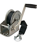 REESE 1500 lb. Single Speed Trailer Winch with Strap