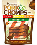 "Pork Chomps 6"" Assorted Twistz"