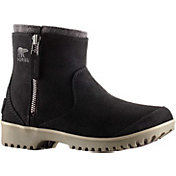 SOREL Women's Meadow Zip Pull-On Waterproof Boots