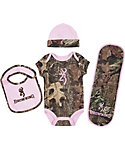 Browning Infant Camo Onesie Set