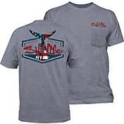 Salt Life Men's American Tail Pocket T-Shirt