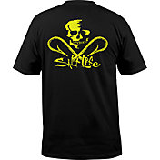 Salt Life Men's Neon Skull and Hooks Pocket T-Shirt