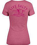 Salt Life Women's Life Salty Sail Tri-Blend V-Neck T-Shirt