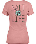 Salt Life Women's Tropic Life Tri-Blend V-Neck T-Shirt