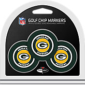 Team Golf Green Bay Packers Poker Chips Ball Markers - 3-Pack
