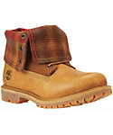 Timberland Women's Authentics Fabric Fold-Down Boots