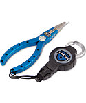 T-REIGN Fishing Pliers with Medium Retractable Gear Tether