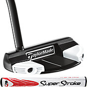 TaylorMade Black Spider Mallet Super Stroke Counterbalance Putter