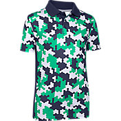 Under Armour Boys' Match Play Novelty Golf Polo