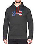 Under Armour Men's FREEDOM Big Flag Logo Storm Hoodie