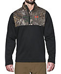 Under Armour Men's Caliber Quarter Zip Fleece Hunting Pullover