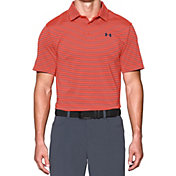 Under Armour Men's coldblack Address Stripe Golf Polo