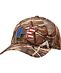 Under Armour Men's Camo Big Flag Logo Hat