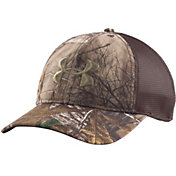 Under Armour Men's Mesh Back Camo Hat