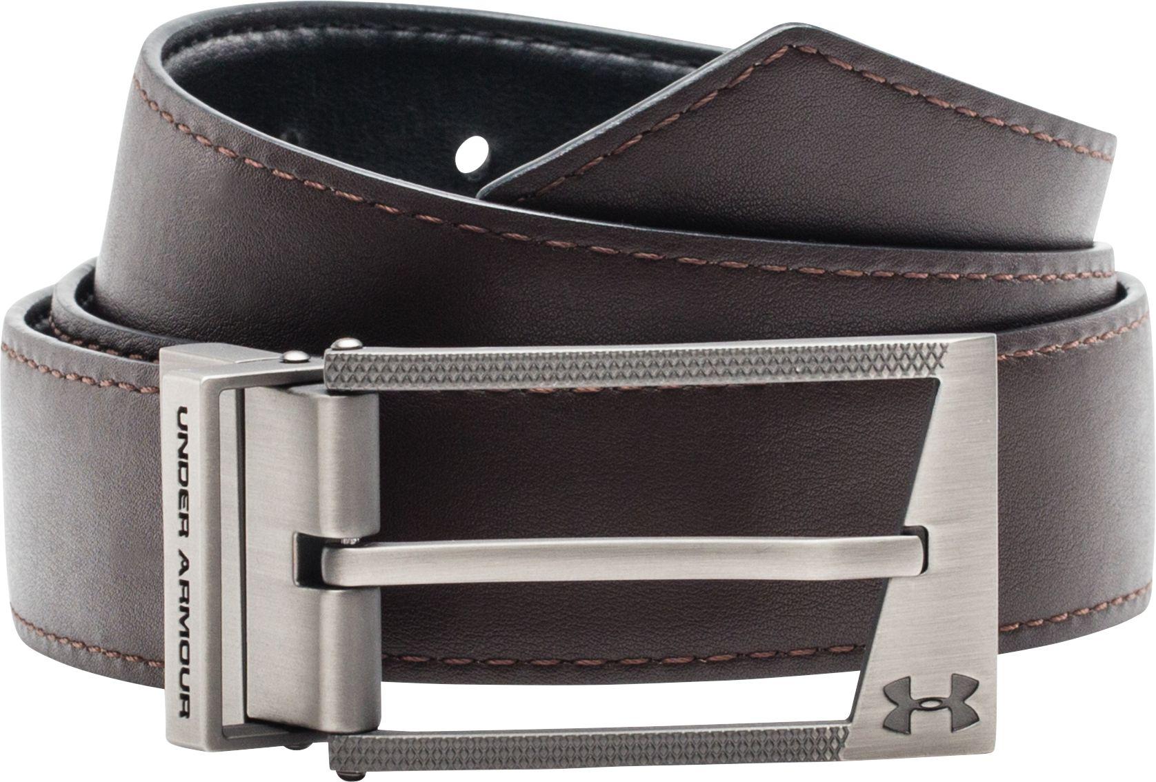 Under Armour Mens Reversible Leather Golf Belt DICKS Sporting Goods