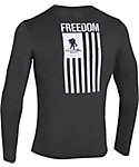 Under Armour Men's Wounded Warrior Project FREEDOM Flag Long Sleeve T-Shirt