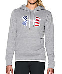 Under Armour Women's Big Flag Logo Armour Fleece Hoodie