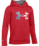 Under Armour Kids' Big Flag Logo AF Hoodie