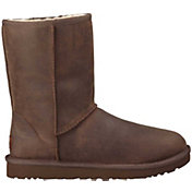 UGG Australia Women's Classic Short Leather Winter Boots