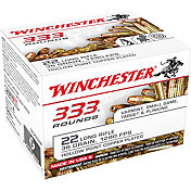Winchester .22LR Rifle Ammo – 333 Rounds