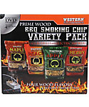 WESTERN Prime Wood BBQ Smoking Chips Variety Pack