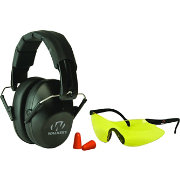 Walker's Game Ear Pro Shooting Earmuffs and Glasses Safety Combo