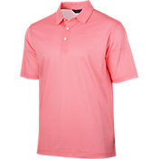 Walter Hagen Men's Essentials Houndstooth Golf Polo