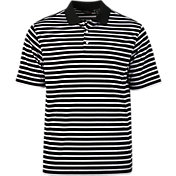 Walter Hagen Men's Essentials Three-Stripe Golf Polo