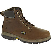 Wolverine Men's Gallatin 6'' DuraShocks Steel Toe Work Boots