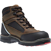 "Wolverine Men's Overman 6"" Composite Toe Work Boots"