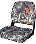 Wise Low Back Camouflage Fishing Boat Seat