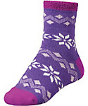 Yaktrax Women's Cozy Flakes Cabin Socks