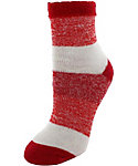 Yaktrax Women's Cozy Stripe Crew Cabin Socks