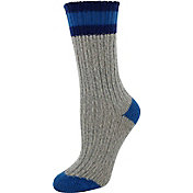 Yaktrax Women's Outdoor Cabin Crew Socks
