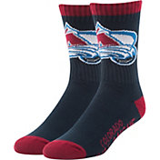 47 Colorado Avalanche Bolt Sport Crew Socks
