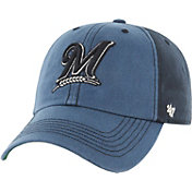 '47 Men's Milwaukee Brewers Humboldt Franchise Blue Fitted Hat